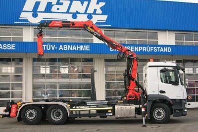 Frank Fahrzeugbau Aufbau