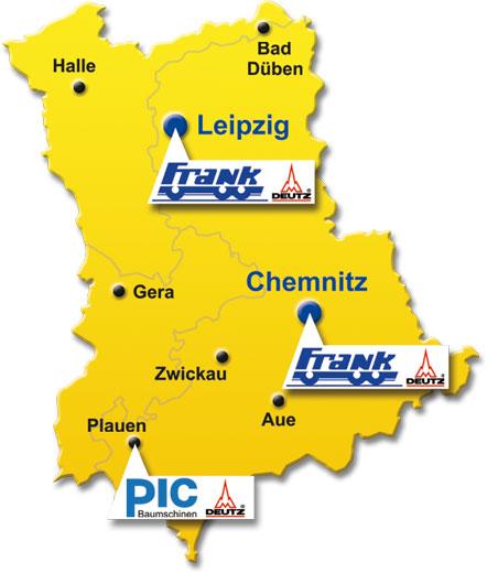 Locations Service partner Deutz